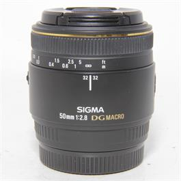 Used Sigma 50mm f2.8 Macro Lens Sony A thumbnail