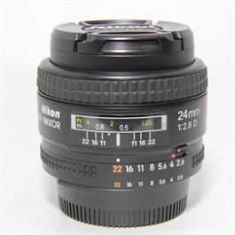 Used Nikon AF 24mm f2.8D Lens Unboxed thumbnail