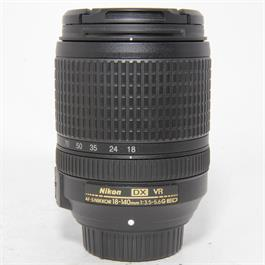 Used Nikon 18-140mm f3.5-5.6G DX VR Lens thumbnail