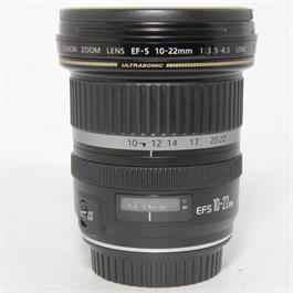 Used Canon 10-22mm f3.5-4.5 USM Lens thumbnail