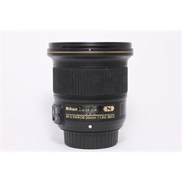 Used Nikon 20mm F/1.8G ED thumbnail