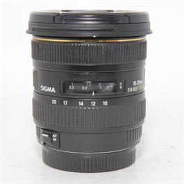 Used Sigma 10-20mm f4-5.6 DC Canon Fit thumbnail