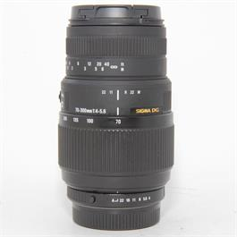 Used Sigma 70-300mm f4-5.6 DG Pentax Fit thumbnail