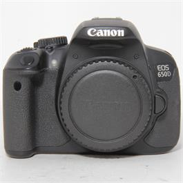 Used Canon 650D Body Unboxed thumbnail