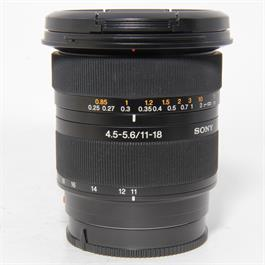 Sony Used Sigma 11-18mm f4.5-5.6 A mount Lens thumbnail