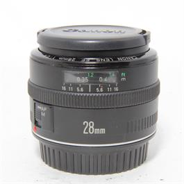 Used Canon 28mm f/2.8 EF Lens Unboxed thumbnail