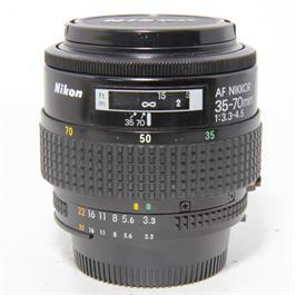 Used Nikon AF 35-70mm f3.3-4.5 Lens thumbnail