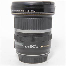 Used Canon 10-22mm f3.5-4.5 USM Lens thumbnail