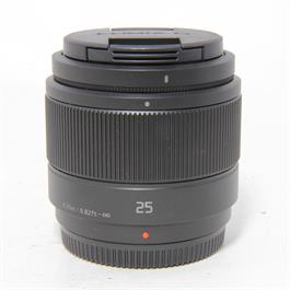 Used Panasonic 25mm f/1.7 Lens Unboxed thumbnail