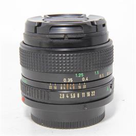 Used Canon 35mm f/2.8 FD Lens Unboxed thumbnail