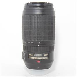 Used Nikon 70-300mm F/4.5-5.6G VR Lens thumbnail