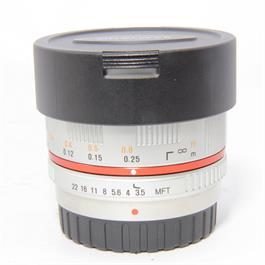 Used Samyang 7.5mm f/3.5mm Fisheye M4/3 thumbnail