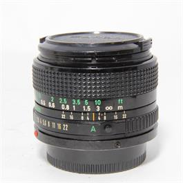 Used Canon 28mm f/2.8 FD Lens Unboxed thumbnail