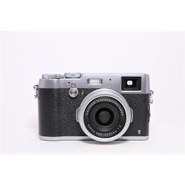 Used Fujifilm X100T Silver thumbnail
