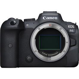 Canon EOS R6 Mirrorless Digital Camera Body Thumbnail Image 5
