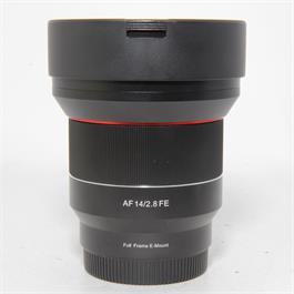 Used Samyang AF 14mm f2.8 Sony FE Lens thumbnail