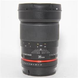 Used Samyang 35mm f1.4 Lens Sony A Fit thumbnail