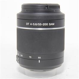 Used Sony DT 55-200mm f/4.5-5.6 Lens	 thumbnail