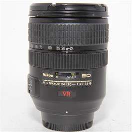 Used Nikon 24-120mm f3.5-5.6 VR Lens thumbnail