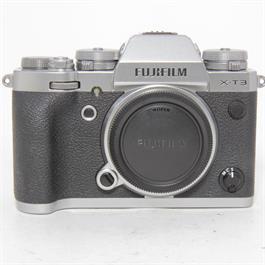 Fujifilm Used Fuji X-T3 Body Silver Unboxed thumbnail