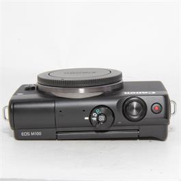 Used Canon M100 Body Black Boxed Thumbnail Image 2