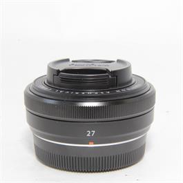 Fujifilm Used Fuji XF 27mm f/2.8 Lens Black Boxed thumbnail