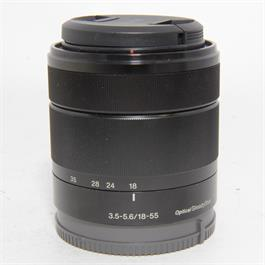 Used Sony E 18-55mm f3.5-5.6 OSS Lens thumbnail