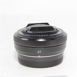 Fujifilm Used Fuji XF 27mm f2.8 Lens Black thumbnail