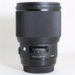 Used Sigma 85mm F/1.4 DG HSM Art Canon thumbnail