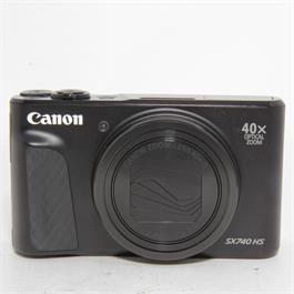 Used Canon Powershot SX740 Compact Black thumbnail