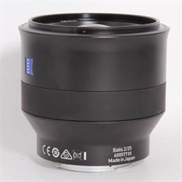 Used Zeiss Batis 25mm f/2 - E Mount thumbnail