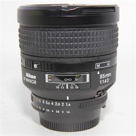Used Nikon AF 85mm f1.4D Lens Unboxed thumbnail