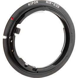 Kipon Lens Adapter for Canon RF Mount Body - Nikon F Mount Lens MF thumbnail