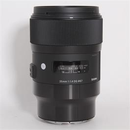 Used Sigma 35mm f/1.4 DG HSM Art - L Mount thumbnail
