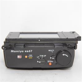 Used Mamiya 120/220 Motor Back for RB67 thumbnail