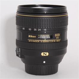 Used Nikon 16-80mm f/2.8-4E VR thumbnail