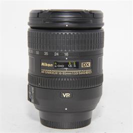 Used Nikon 16-85mm f3.5-5.6G ED VR Lens thumbnail