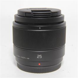 Used Panasonic 25mm f1.7 Lens Unboxed thumbnail