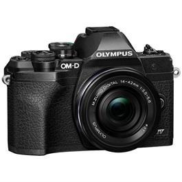 Olympus OM-D E-M10 Mark IV MFT Camera With 14-42mm EZ Lens Kit Black Thumbnail Image 0
