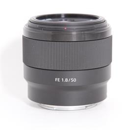 Used Sony 50mm f/1.8 (FE) thumbnail