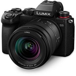 Panasonic Lumix S5 Full-Frame Camera With S 20-60mm f/3.5-5.6 Lens Kit thumbnail