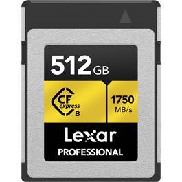 Lexar 512GB CF Express Pro Type-B thumbnail