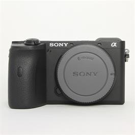 Used Sony A6600 body thumbnail