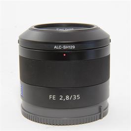 Used Sony FE 35mm f/2.8 ZA Lens Boxed thumbnail