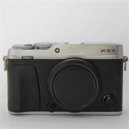 Fujifilm Used Fuji X-E3 Body Silver Boxed thumbnail