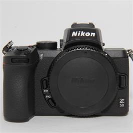 Used Nikon Z50 Body Boxed thumbnail