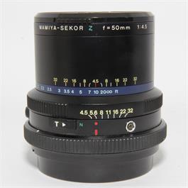 Used Mamiya Sekor Z 50mm F4.5 Lens Unbxd thumbnail