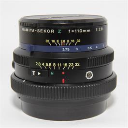 Used Mamiya Sekor Z 110mm f2.8 Lens thumbnail