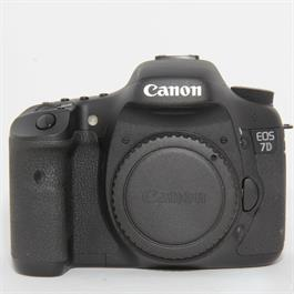Used Canon 7D Body Boxed thumbnail