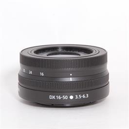 Used Nikon 16-50mm f/3.5-6.3 VR Z thumbnail